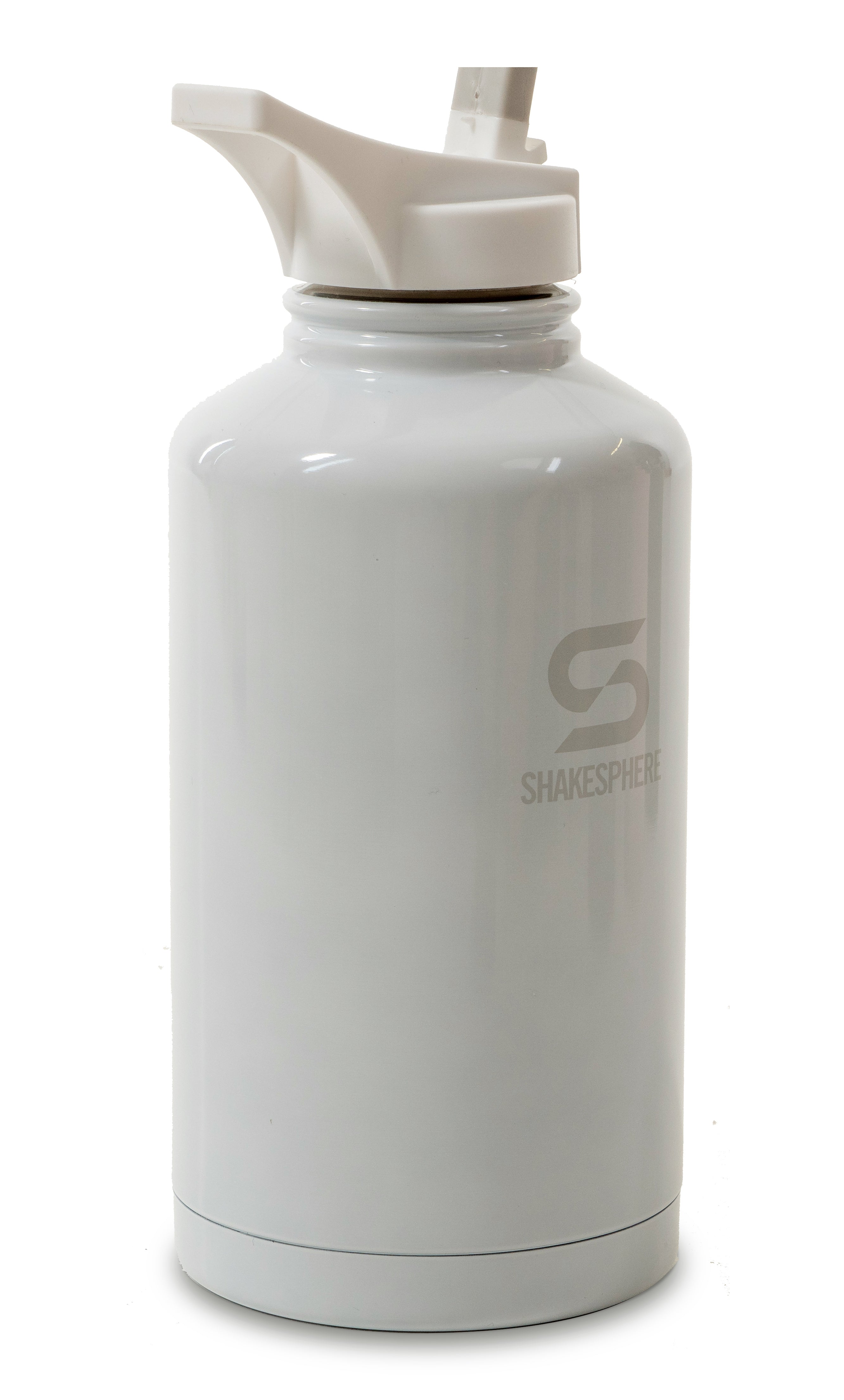 ShakeSphere Hydration Jug 1.8L Steel Double Walled White