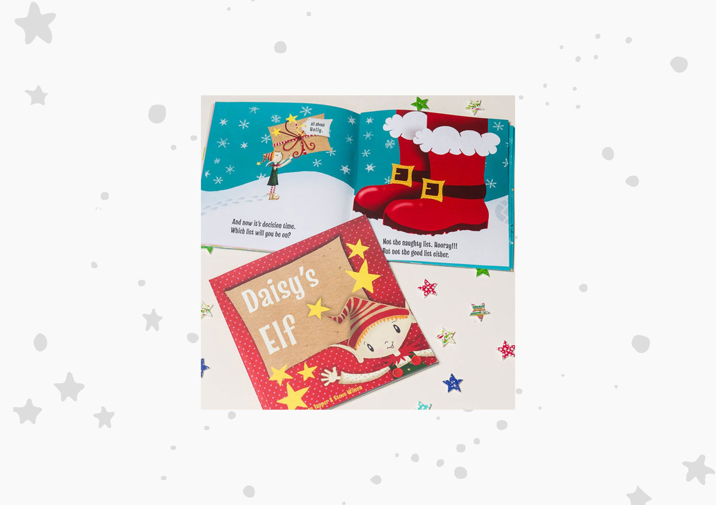 FromLucy 'Your Elf' Personalised Children's Christmas Story Book
