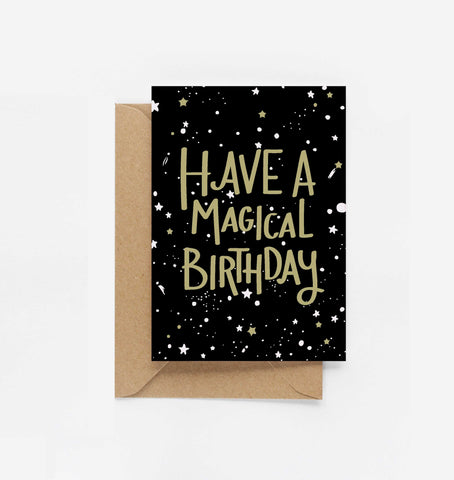 Have A Magical Birthday Card