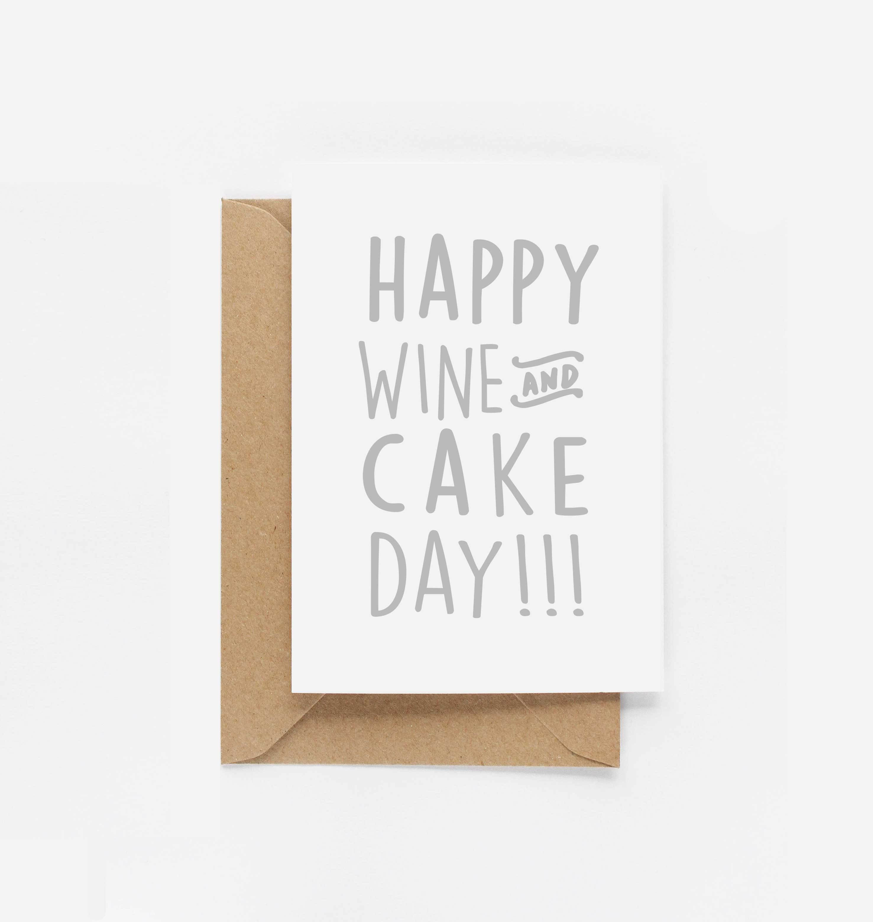 happy wine cake day birthday card eddie and the giant peach