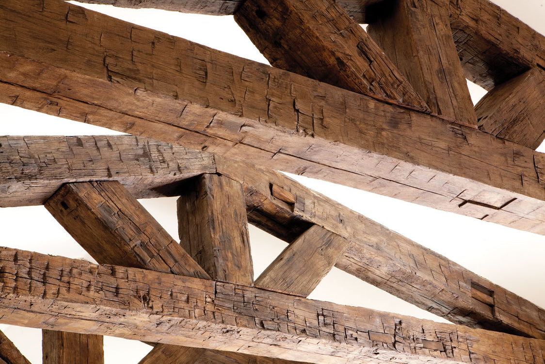 What is a Hand Hewn Beam?