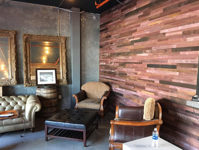 Reclaimed Wine Infused Barrel Wood Planks
