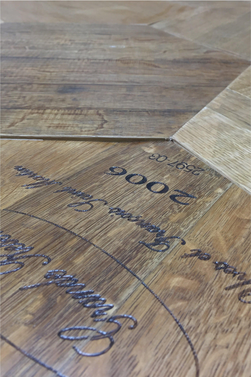 12sf Coopersmark Wine Barrel Oak Flooring
