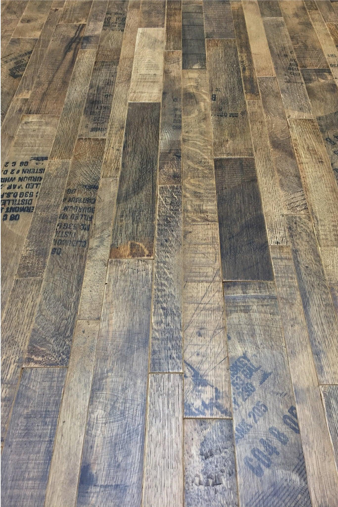 Coopersmark Whiskey Barrel Cask Oak Flooring Antique