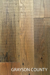 Grayson County Heirloom Domestic Oak Reclaimed Barn Wood Flooring
