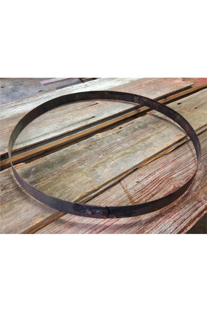 Whiskey Barrel Metal Hoop Metal Band Metal Rings