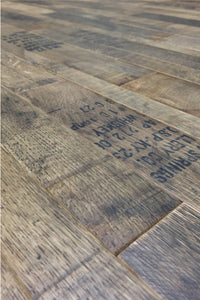 Coopersmark Whiskey Barrel Oak Flooring Paneling
