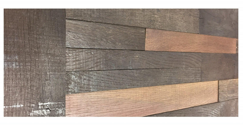 Reclaimed Wine Soaked Wine Barrel Trim, Reclaimed Wood Wall Paneling, Antique Barrel Collection