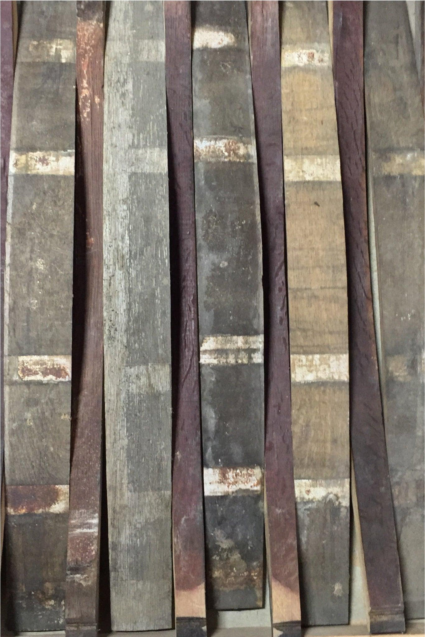 used whine barrel cask staves decor ideas