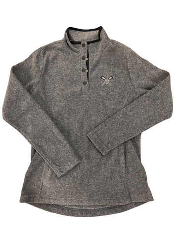 Fleece Snap Pullover-Clearance/Final Sale