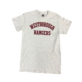 Short Sleeve Traditional Westborough Rangers Cotton T-Shirt