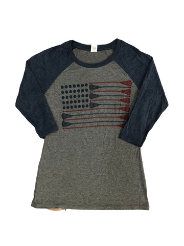 Flag Baseball T-Shirt