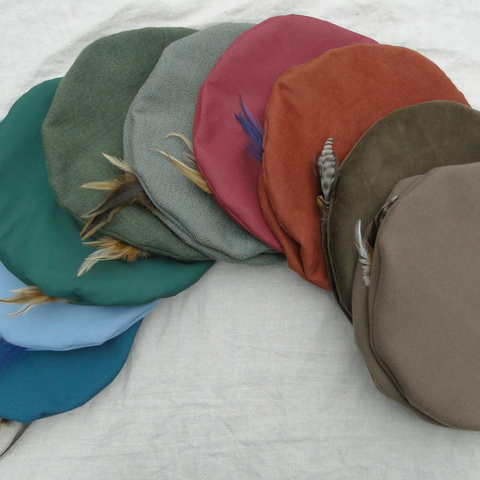 Renaissance Hats - Medieval Mens or Womens - Lots of Color Choices