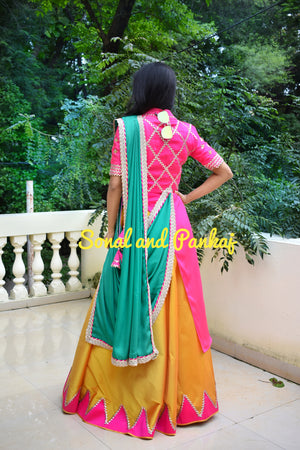 Beautiful Lehenga & Blouse From Our Traditions Of India Collection - LH00370