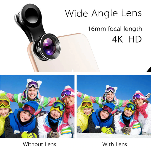 3 in 1 Universal Cell Phone Camera Lens Kit