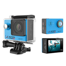 4k Action Cam (Blue)