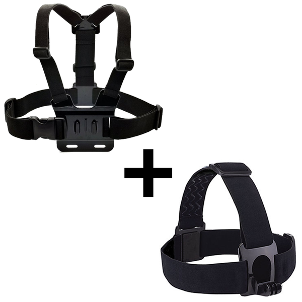 Head Strap & Chest Mount