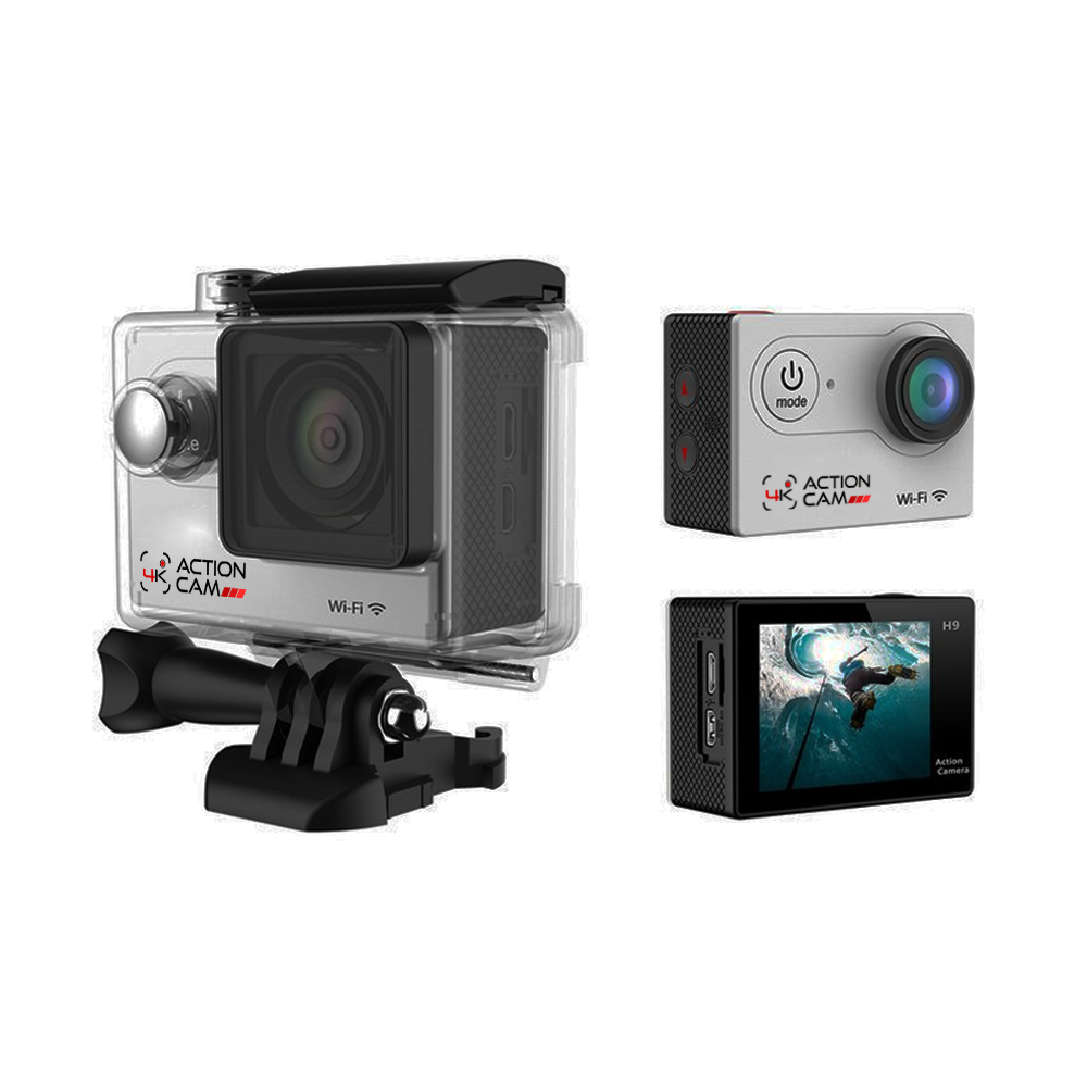 4k Action Cam (Silver)