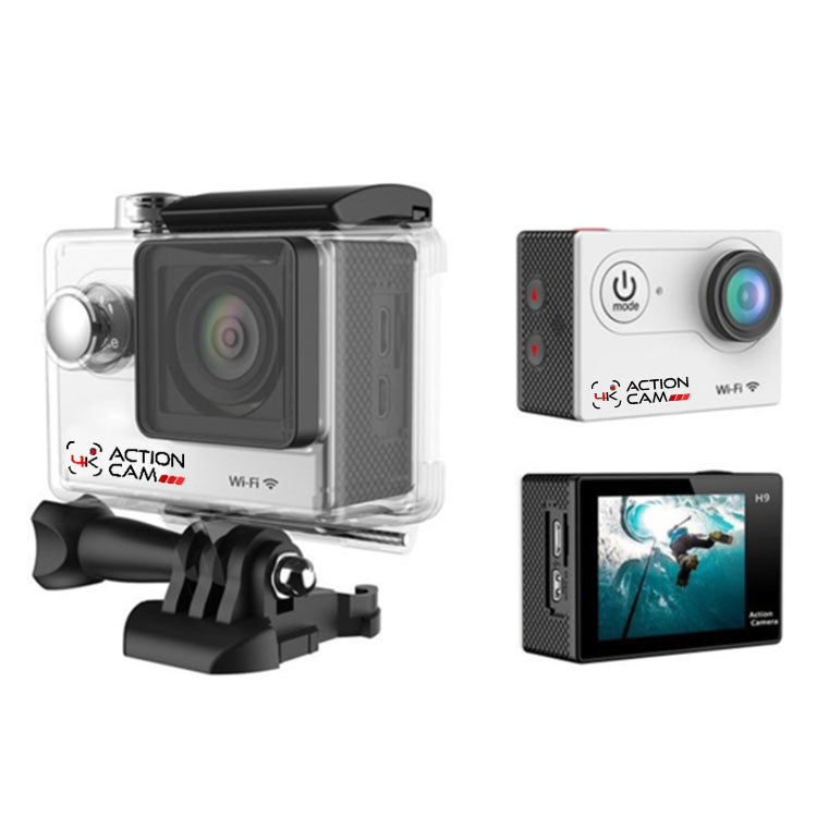 4k Action Cam (White)