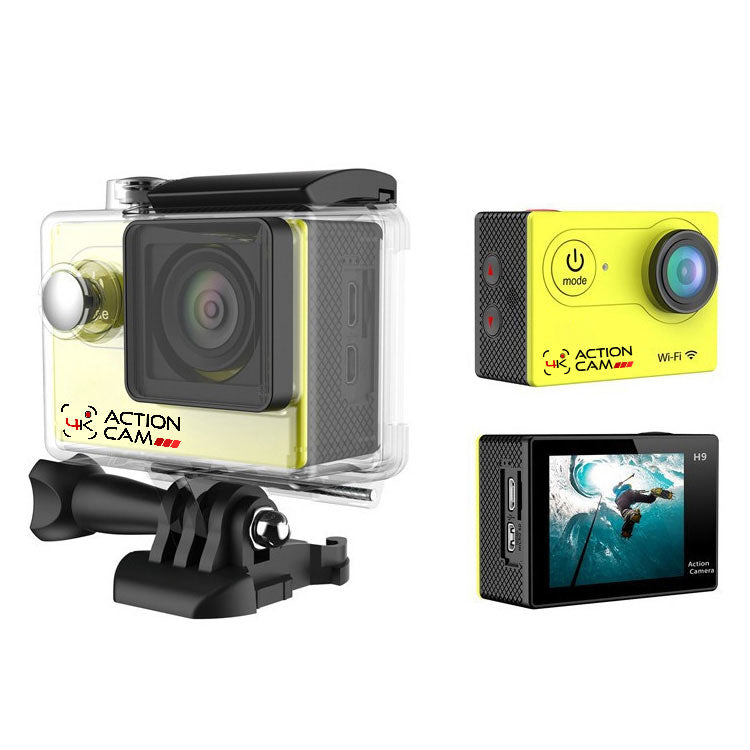 4k Action Cam (Yellow)