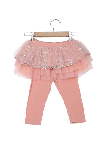 Party Leggings With Tutu Skirt