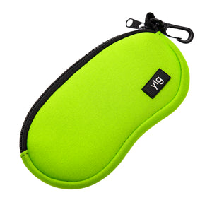 Neoprene Eyeglass / Sunglass Case Green