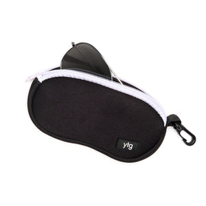 Neoprene Eyeglass / Sunglass Case Black