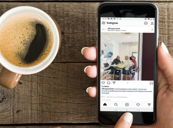 OfficePartner est maintenant sur Instagram