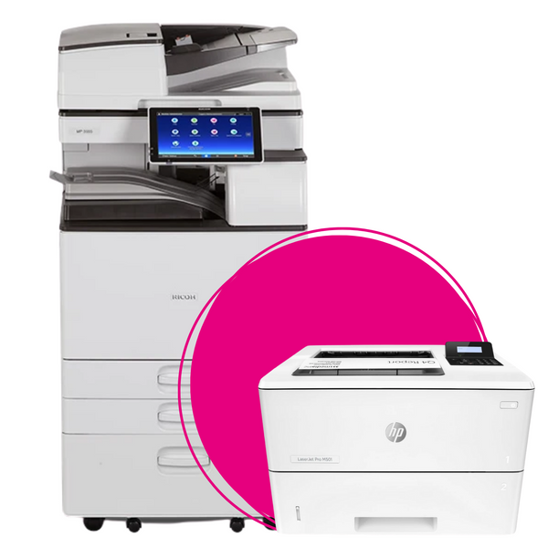 Collection Multifonctions et Imprimantes Ricoh, HP et Brother par OfficePartner