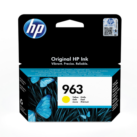 Cartouche de toner d'origine HP 963 jaune - 3JA25AE - OfficePartner.fr