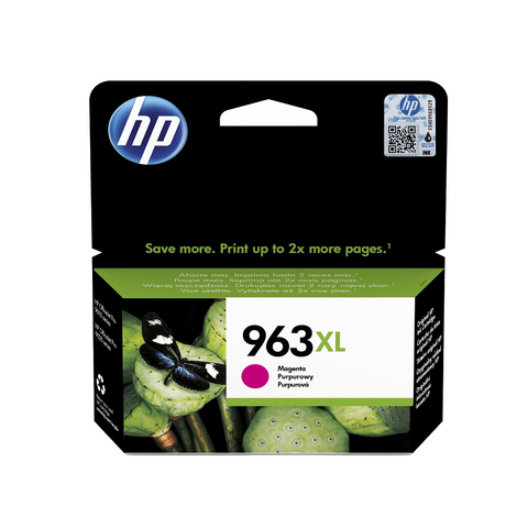 cartouche d'encre couleur d'origine HP 963XL magenta - 3JA28AE - officepartner.fr