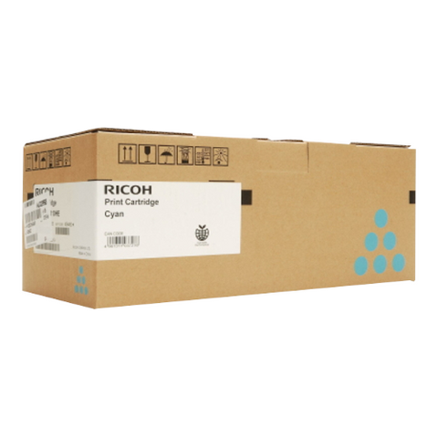 Cartouche de toner d'origine Ricoh SP C352 E cyan - 407384 / 408216 - OfficePartner.fr