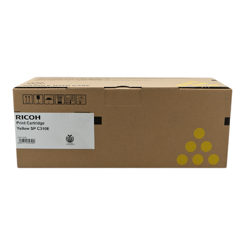 Cartouche de toner d'origine Ricoh SPC-310 sy jaune - 407639/406351 - OfficePartner.fr