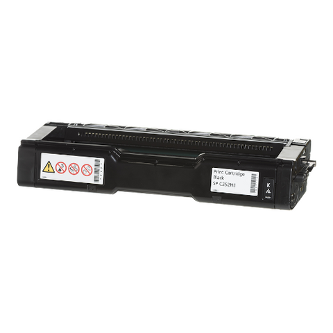 Cartouche de toner d'origine Ricoh SP C252 HE noir - 407716 - OfficePartner.fr