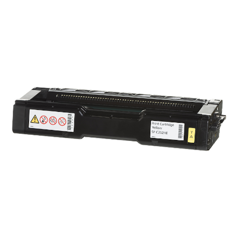 Cartouche de toner d'origine Ricoh SP C252 HE jaune - 407719 - OfficePartner.fr
