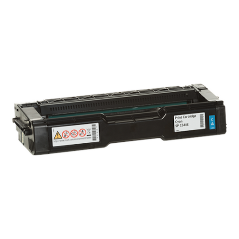 Cartouche de toner d'origine Ricoh SP C340 E cyan - 407900 - OfficePartner.fr