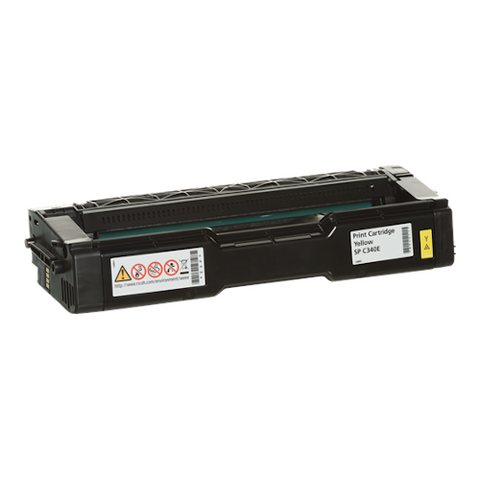 Cartouche de toner d'origine Ricoh SP C340 E jaune - 407902 - OfficePartner.fr