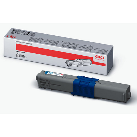 cartouche de toner d'origine OKI cyan 44469724 - officepartner.fr