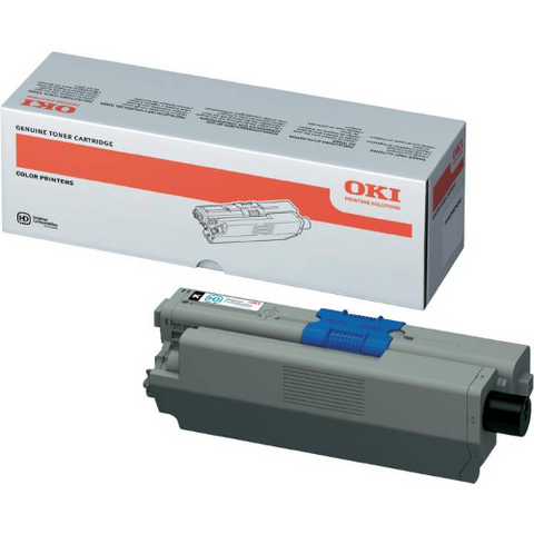 Cartouche de toner d'origine OKI noir 44973508 - officepartner.fr