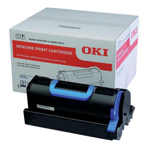 Cartouche de toner d'origine OKI noir - 45488802 - officepartner.fr