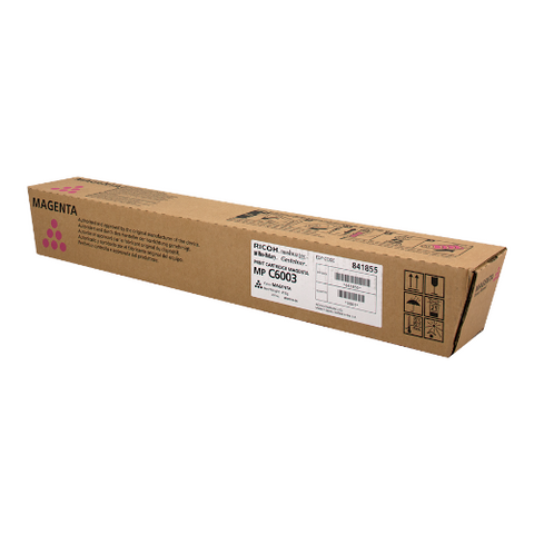 Cartouche de toner d'origine Ricoh MP C6003E magenta - 841855 - OfficePartner.fr