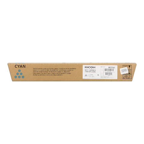 Cartouche de toner d'origine Ricoh MP C5000 cyan - 842051/841179 - OfficePartner.fr