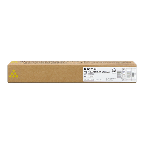 Cartouche de toner d'origine Ricoh MP C2550 jaune - 842058/841199 - OfficePartner.fr