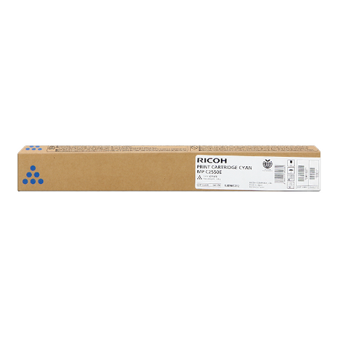 Cartouche de toner d'origine Ricoh MP C2550 cyan - 842060/841197 - OfficePartner.fr