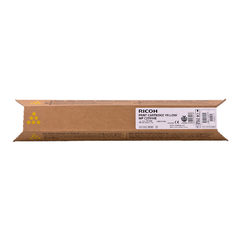 Cartouche de toner d'origine Ricoh MP C2551 jaune - 842062/841507 - OfficePartner.fr