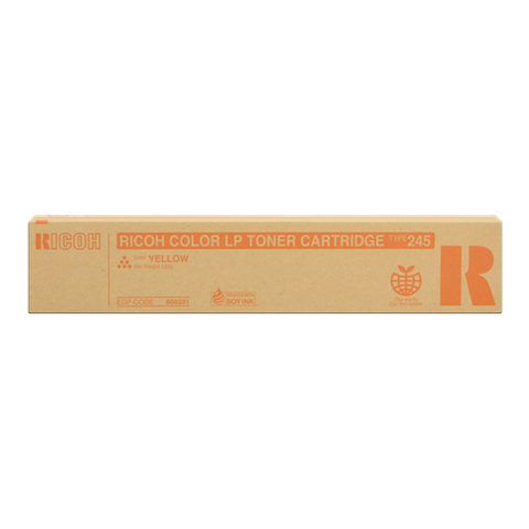 Cartouche de toner d'origine Ricoh Type 245 jaune - 888281 - OfficePartner.fr