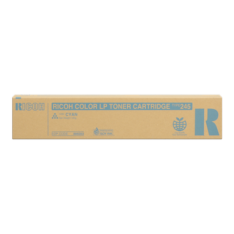 Cartouche de toner d'origine Ricoh Type 245 cyan - 888283 - OfficePartner.fr