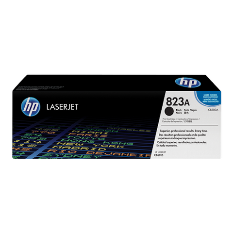 Cartouche de toner d'origine HP 823A noir - CB380A - OfficePartner.fr