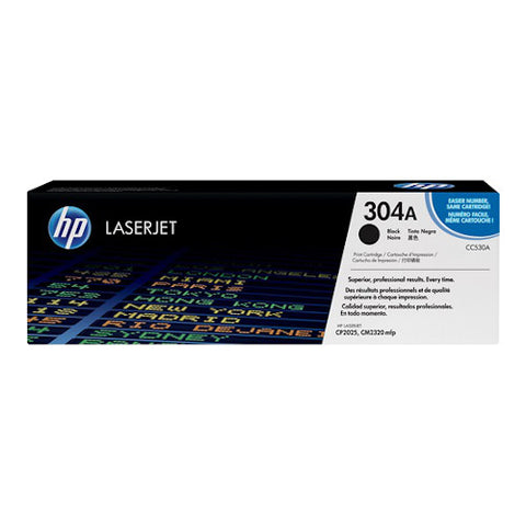 Cartouche de toner d'origine HP 304A noir - CC530A - OfficePartner.fr