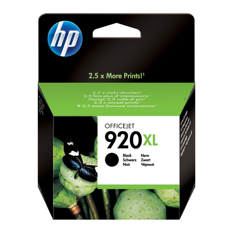 Cartouche d'encre couleur noir d'origine HP920XL - CD975AE - Officepartner.fr